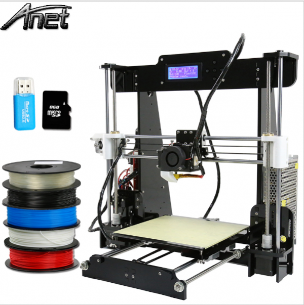 Auto level reprap prusa i3 large build 3d printer with arduino newest mainboard 4
