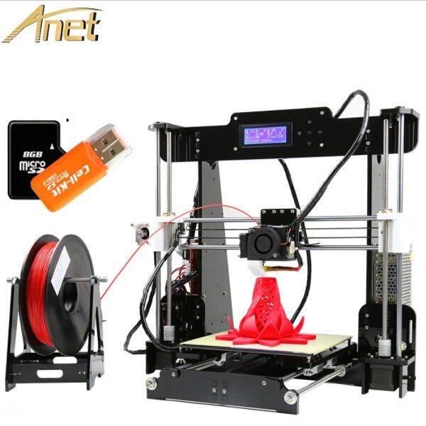 large 3d printer kit Anet A8 3d digital printing machines
