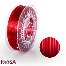 PETG Standard RED Transparent ROSA3D
